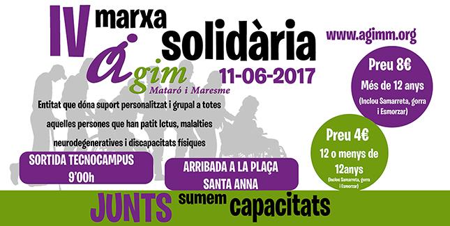 IV MARXA SOLIDÀRIA D'AGIM 11-06-2017